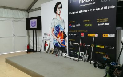 Feria del libro de Madrid 2019. La espada VS la pluma